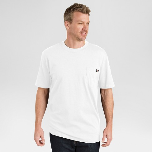 3e9091c3 Dickies® Men's 2 Pack Cotton Short Sleeve Pocket T-Shirt - White L ...