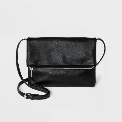Flap Zip Closure Crossbody Bag - Wild Fable™