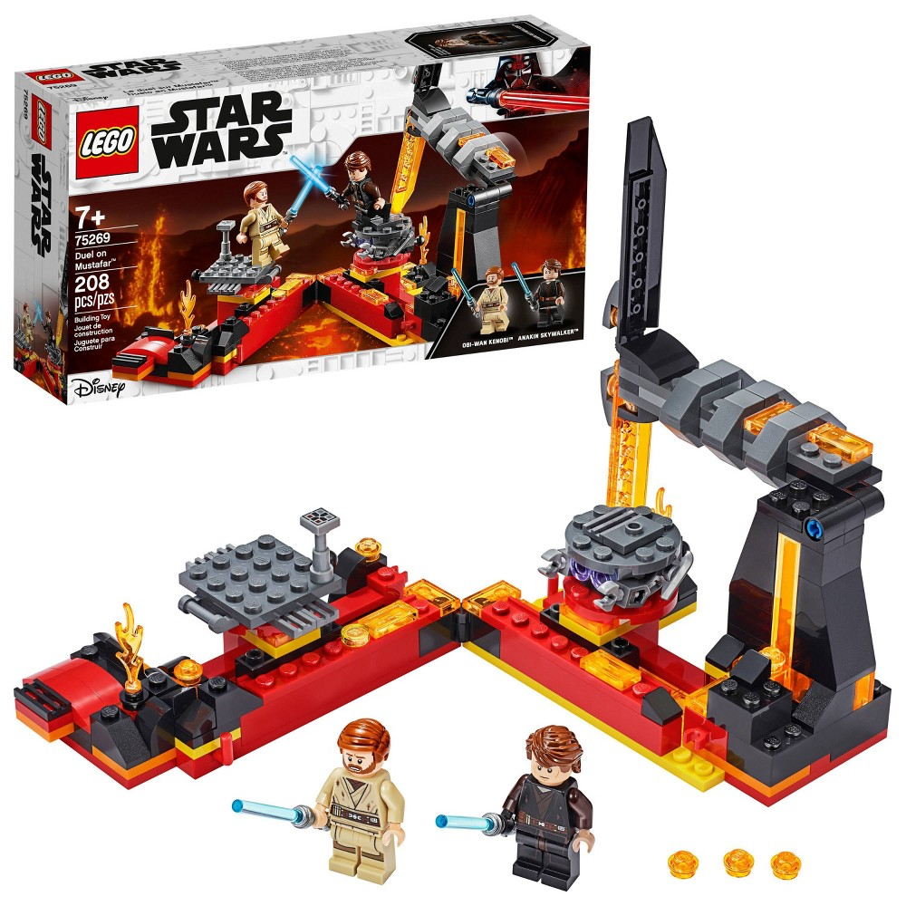 Lego Star Wars Revenge Of The Sith Duel On Mustafar Anakin Skywalker Vs Obi Wan Kenobi 75269