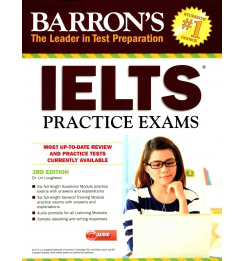IELTS Practice Exams (Paperback) (Lin Lougheed) - image 1 of 1