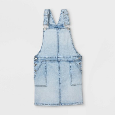 Girls' Denim Dress - art class™ Light Blue