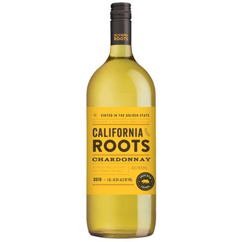 Chardonnay White Wine - 1.5L Bottle - California Roots™ - image 1 of 1