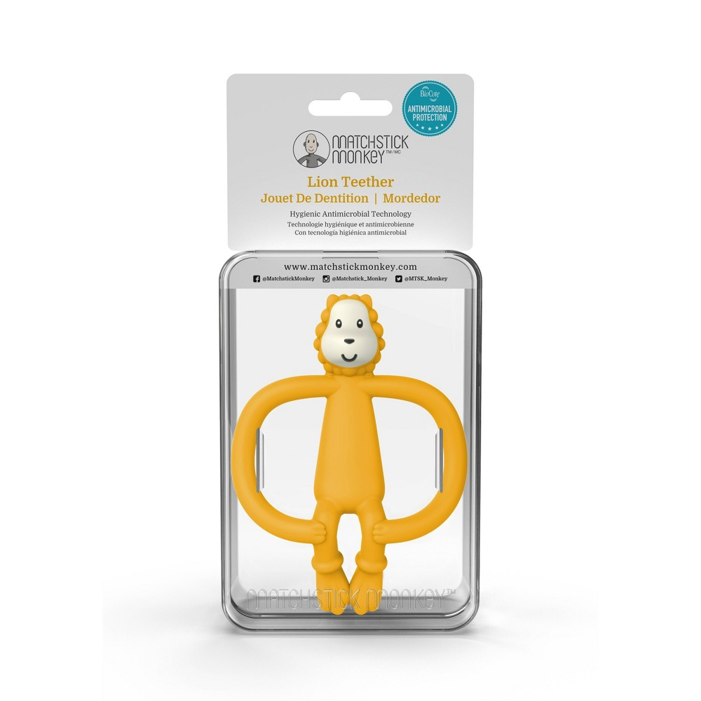 Image of Matchstick Monkey Teething Toy - Lion