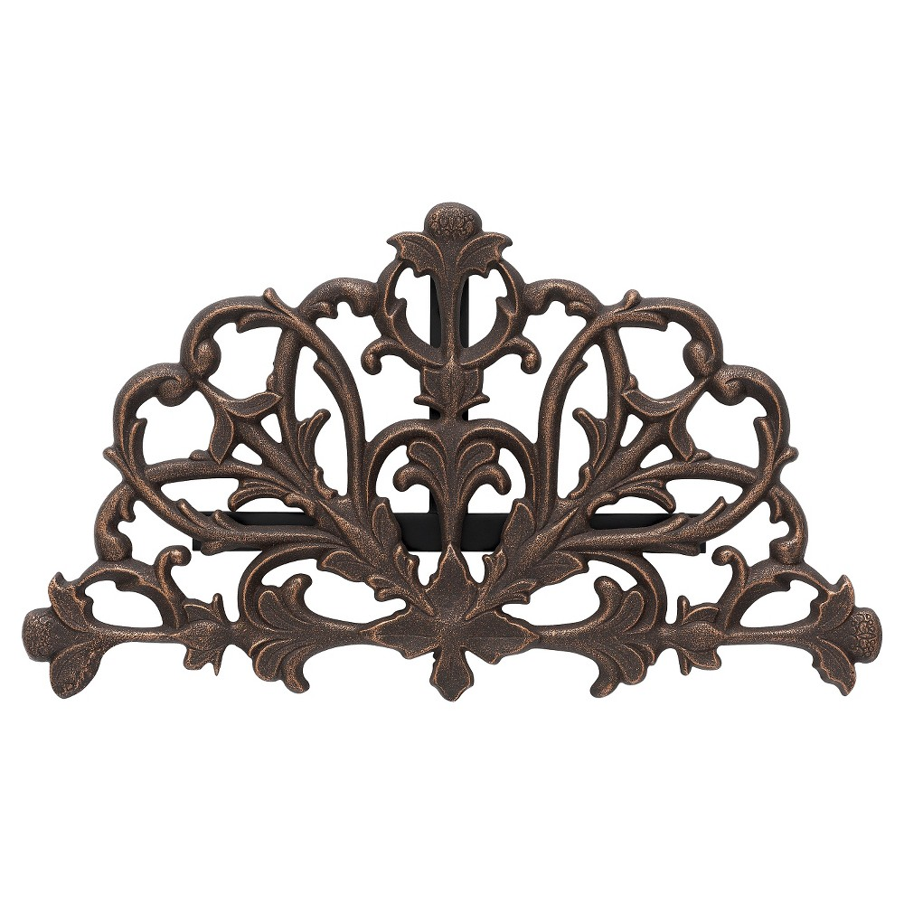 Image of Filigree Hose Holder - Oiled-Rubbed Bronze - Whitehall Products, Oil-Rubbed Bronze