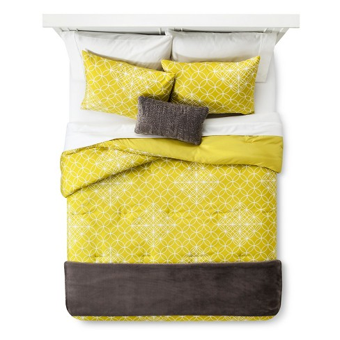 Geometric Comforter Set - Room Essentials™ - image 1 of 3