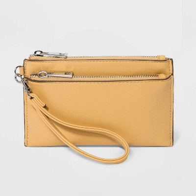 Wristlet Pouch  - A New Day™ Yellow
