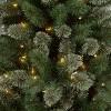 6ft Pre-lit Artificial Christmas Tree Virginia Pine Clear Lights - Wondershop™ - image 2 of 4