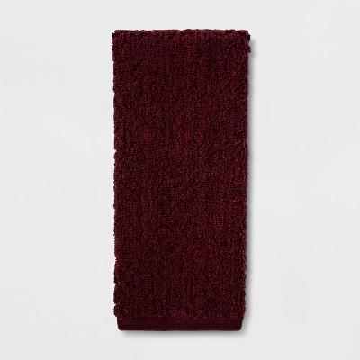 Heathered Paisley Hand Towel Berry - Threshold™