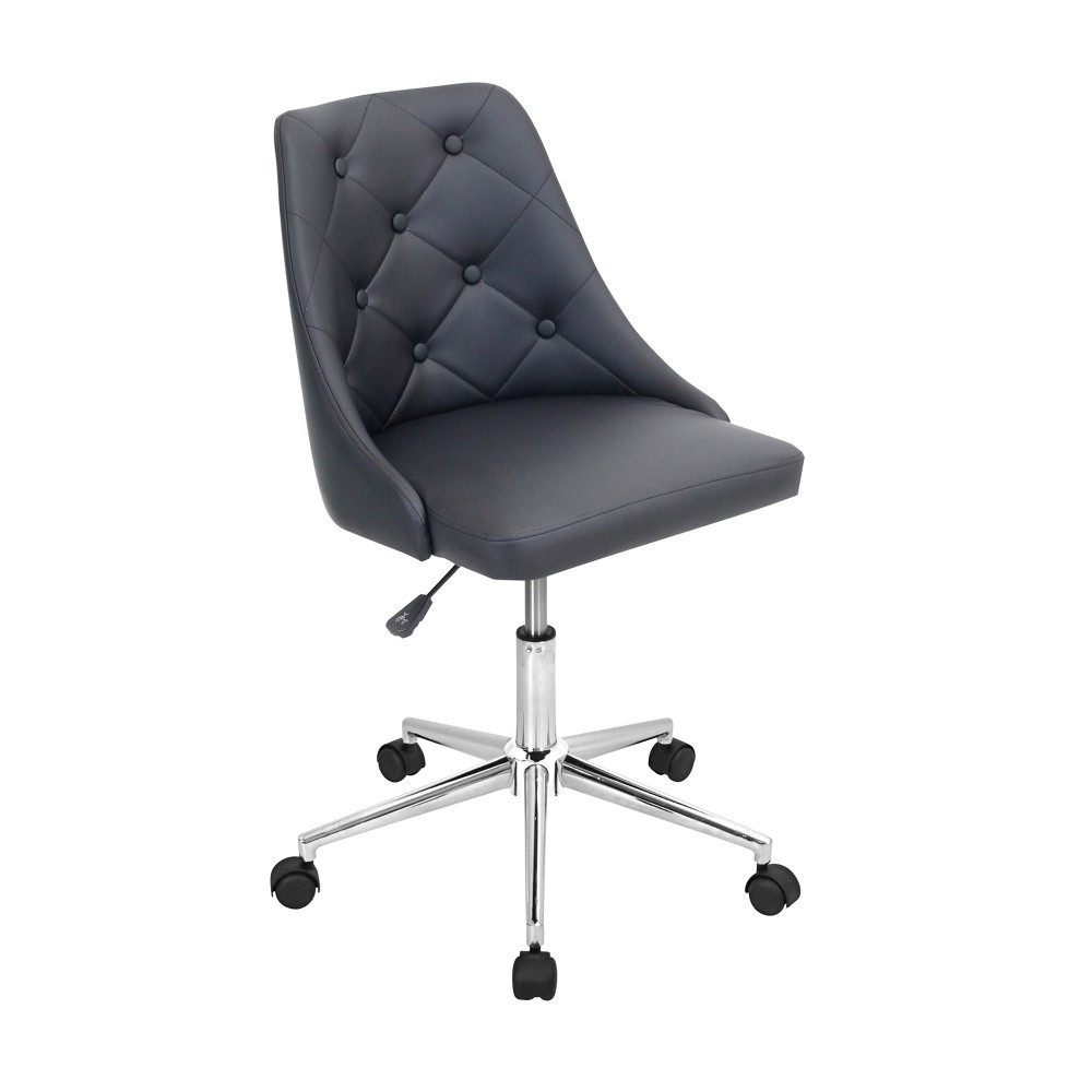Marche Contemporary Office Chair Black - LumiSource