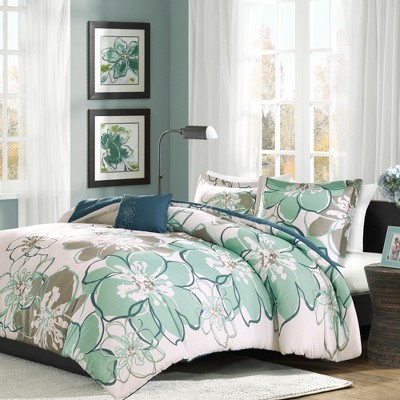 Kelly Floral Multiple Piece Duvet Cover Set