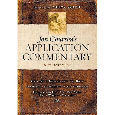New Testament Volume 3 - (Jon Courson's Application Commentary) by  Jon Courson (Hardcover)