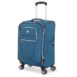 "SWISSGEAR Checklite 20"" Pilot Case Carry On Suitcase - Teal"
