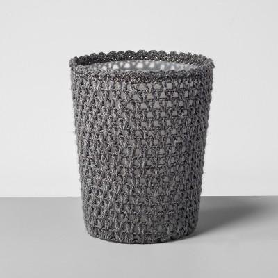 Solid Bathroom Wastebasket Gray - Opalhouse™