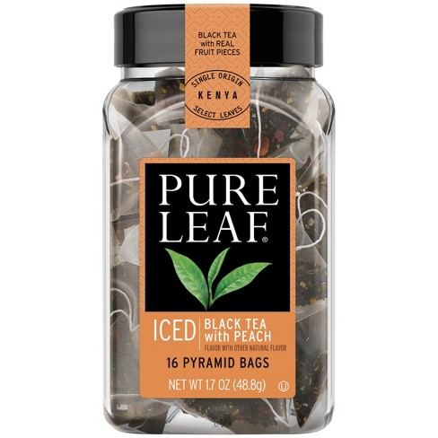 Pure Leaf Iced Black Tea with Peach Tea Bag - 16ct - image 1 of 4