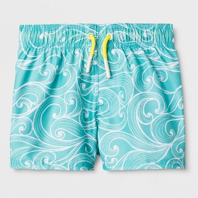33cfb1985c Baby Boys' Swim Trunks - Cat & Jack™ ...