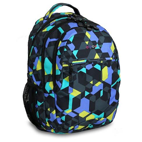 J World Cornelia  Laptop Backpack - Cubes - image 1 of 4