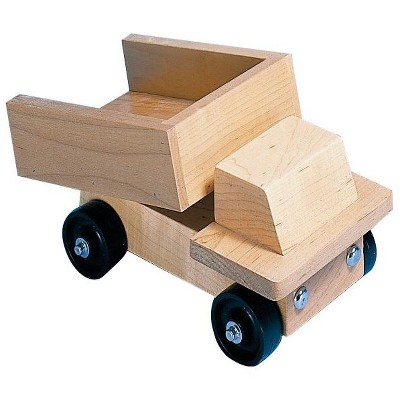 Marvel Education Co Wooden Dump Truck, 10 x 5 Inches