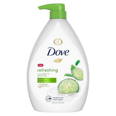 Dove go Fresh Cucumber & Green Tea Body Wash - 34 fl oz