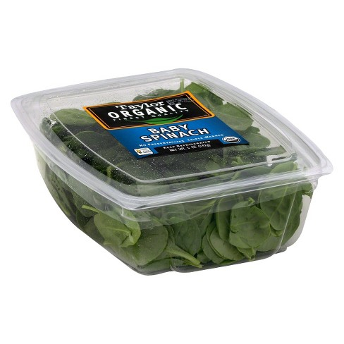 Taylor Farms Organic Baby Spinach - 5oz Package - image 1 of 1
