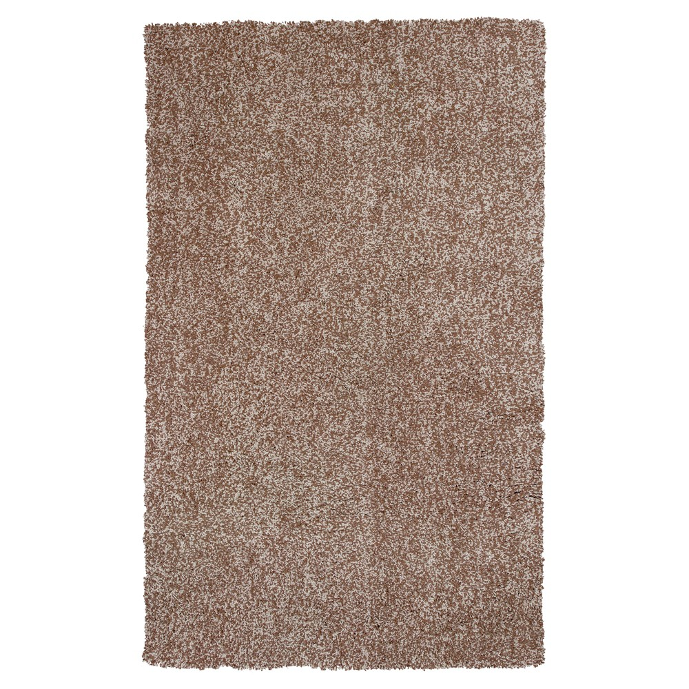 "Image of ""Beige Solid Woven Area Rug 3'3""""x5'3"""" - KAS Rugs"""