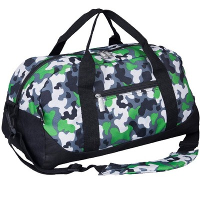 Wildkin Green Camo Overnighter Duffel Bag