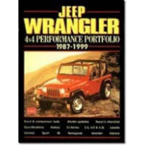 Jeep Wrangler - (Performance Portfolio) by  R M Clarke (Paperback) - image 1 of 1