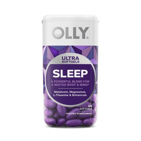 Olly Ultra Sleep Softgel Supplement 60ct Target