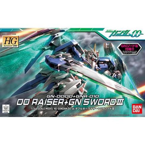 Bandai Hobby Gundam 00 #54 00 Raiser GN Sword III HG 1/144 Model Kit - image 1 of 3