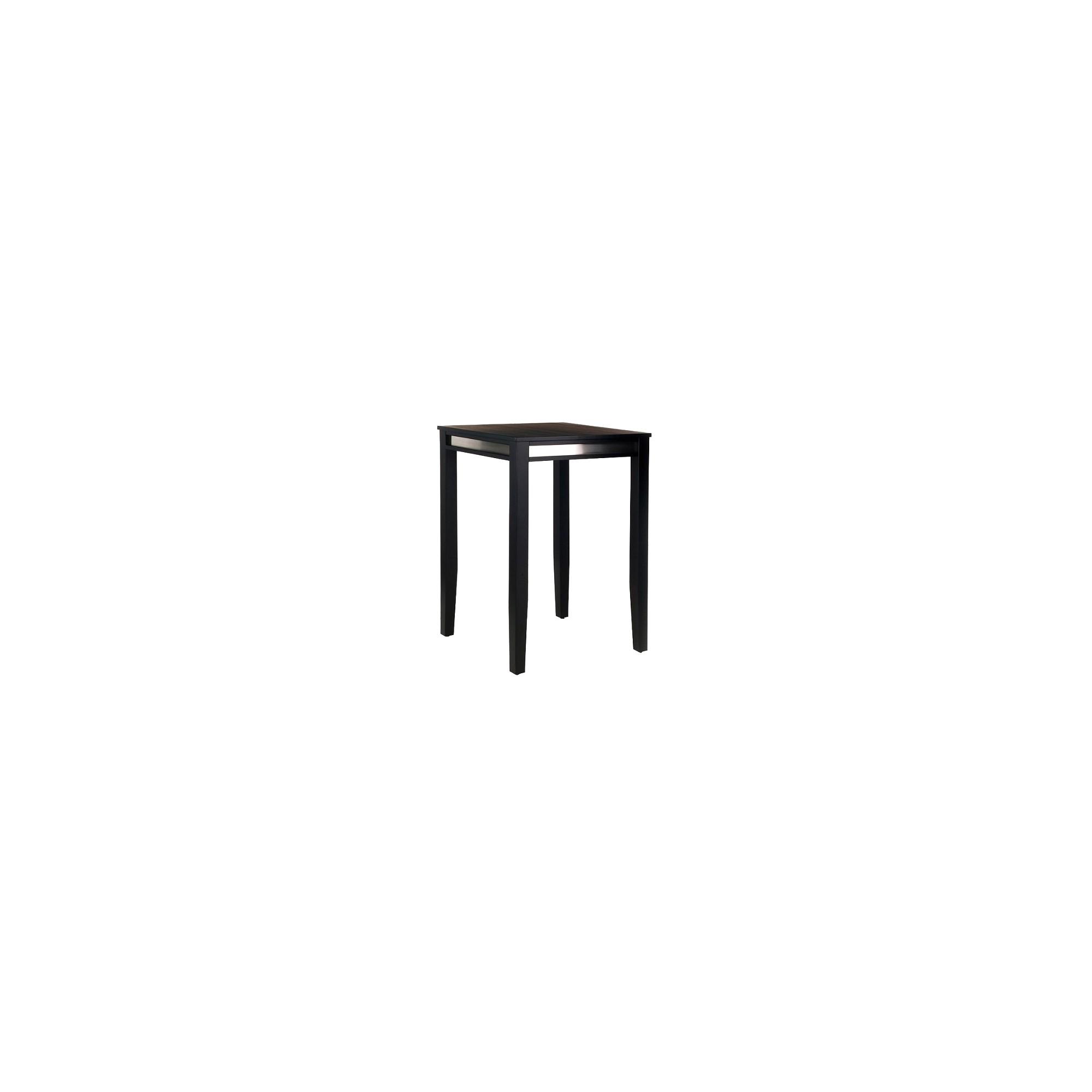 Manhattan Pub Table Wood/Black - Home Styles