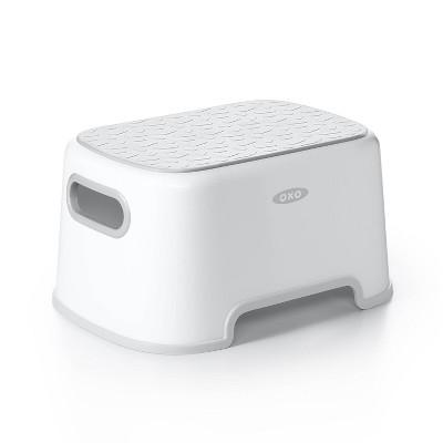 OXO Toilet Step Stool - Gray