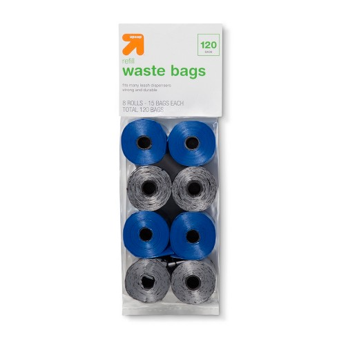 Refill Waste Bags For Leash Dispenser 8 Rolls - Up&Up™ - image 1 of 2