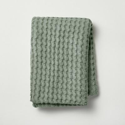 Waffle Body Pillow Cover Sage Green - Casaluna™