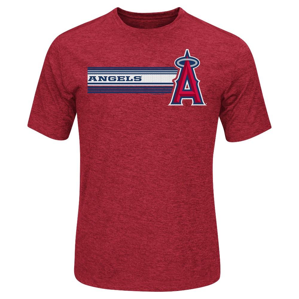 Los Angeles Angels Men's Performance T-Shirt - Xxl, Blue