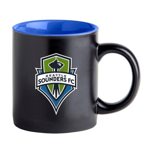 Seattle Sounders FC Black Matte Mug - image 1 of 2