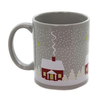 """Tabletop 3.75"""" Snowy House Ceramic Mug Christmas Winter Cose Nuove  -  Drinkware"""