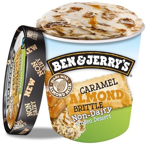 Ben   Jerry s Non Dairy Caramel Almond Brittle Frozen Dessert - 16oz ... 7bf0edc3c