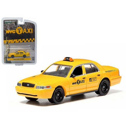 Ford Crown Victoria New York City Taxi (NYC) Greenlight Exclusive 1/64 Diecast Model Car by Greenlight - image 1 of 1
