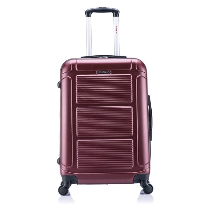 "InUSA Pilot 24"" Hardside Spinner Suitcase - Wine - image 1 of 4"