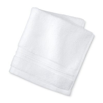 Spa Solid Accent Washcloth White - Fieldcrest®