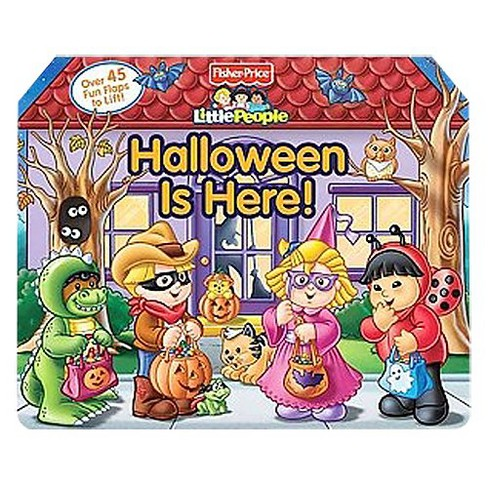 Fisher Price Little People Lift the Flap Halloween (Board) - image 1 of 1