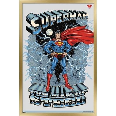 Trends International DC Comics Superman - The Man of Steel Unframed Wall Poster Print