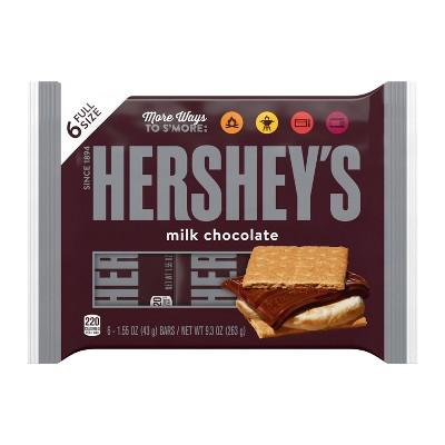 Hershey's Milk Chocolate Bars - 6ct