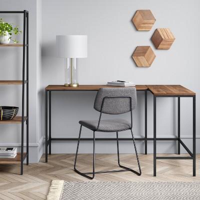 Loring Wood L Shaped Writing Desk - Project 62™
