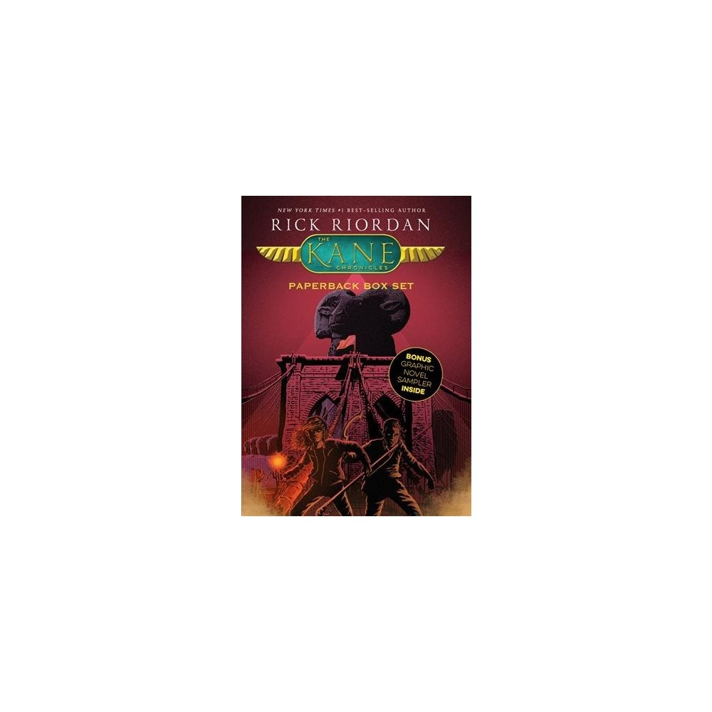 Kane Chronicles : With Graphic Novel Sampler - by Rick Riordan (Paperback)