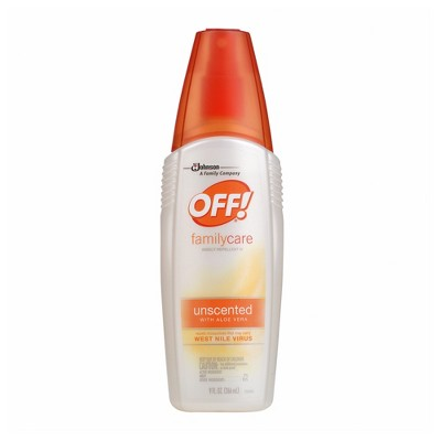 OFF! FamilyCare Insect Repellent IV, Unscented, 9 fl oz
