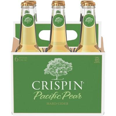 Crispin Pacific Pear Hard Cider - 6pk/12 fl oz Bottles