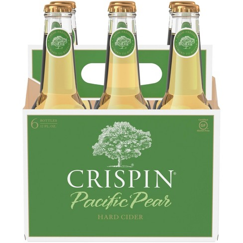 Crispin Pacific Pear Hard Cider - 6pk/12 fl oz Bottles - image 1 of 3