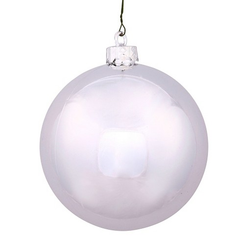 32ct Silver Plastic Ball Christmas Ornament Set - image 1 of 1