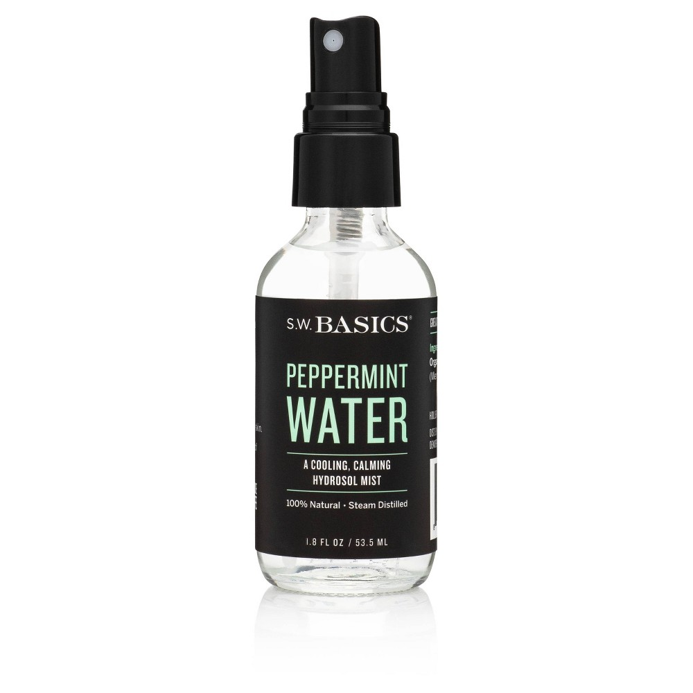 Image of S.W. Basics Peppermint Water Spray - 1.8 fl oz