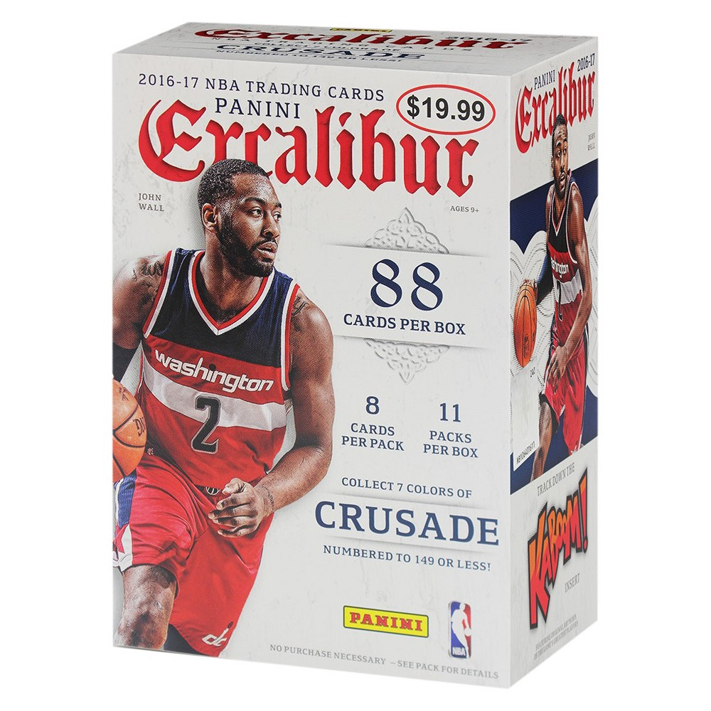 2017 NBA Panini Exalbur Basketball Trading Card Full Box